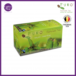 [Belgium Import] PURO Fairtrade Green Tea - Mint