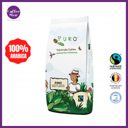 [Belgium Import] PURO Fairtrade Coffee Beans - Fino 1kg Bag