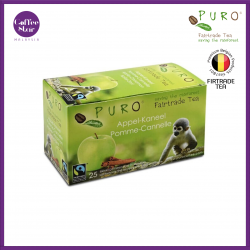 [Belgium Import] PURO Fairtrade Tea - Apple-Cinnamon