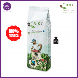 [Belgium Import] PURO Fairtrade Coffee Beans Organic - Dark Roast 250g Bag