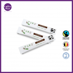 [Belgium Import] PURO Fairtrade Instant Coffee Sticks