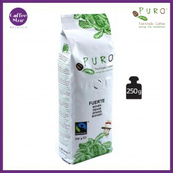 [Belgium Import] PURO Fairtrade Coffee Beans - Fuerte 250g Bag