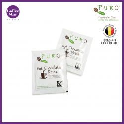 [Belgium Import] PURO Fairtrade Hot Chocolate Sachets