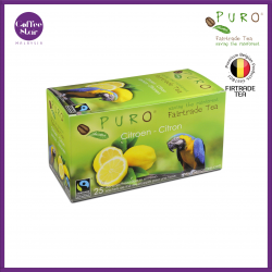 Belgium Import] PURO Fairtrade Tea - Lemon
