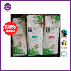 [Belgium Import] PURO Fairtrade Ground Coffee - Organic Dark Roast 1kg Bag